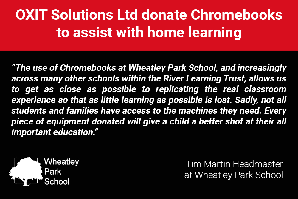 Quote from Wheatley Park School