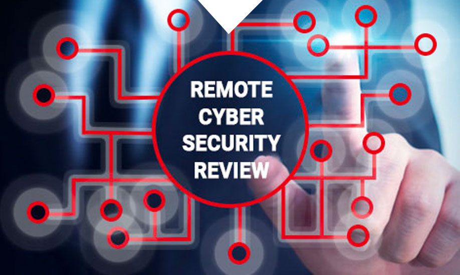 Remote cyber security review